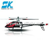 !FX052 RC helicopter large 2.4G Single blade alloy 4CH helicopter with gyro large toy rc helicopter