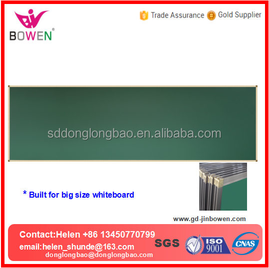 Big size magnetic whiteboard double sides white board with aluminium frame and foam board inside for school suppliers BW-V13