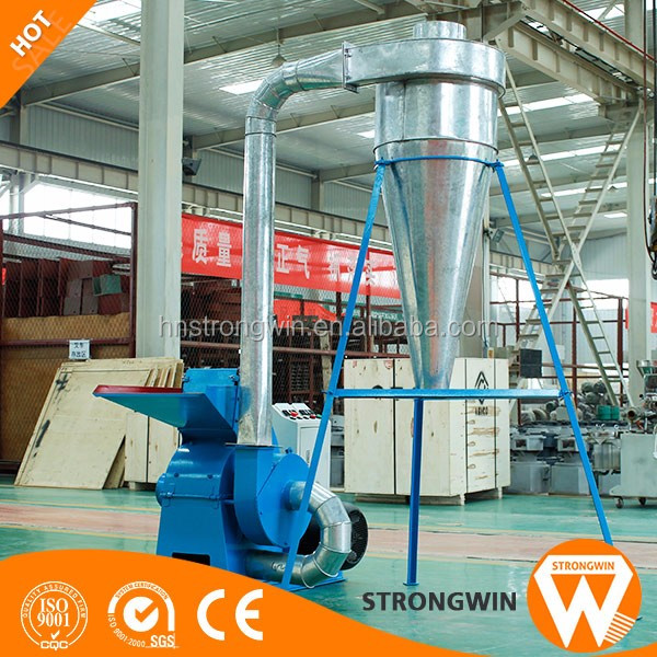 Henan Strongwin multifunctional biomass wood pallet sawdust crusher machine for sale