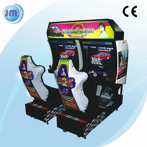 Branded special crazy speed video racing game machine