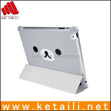 For iPad flip Side Open Leather case new arrival