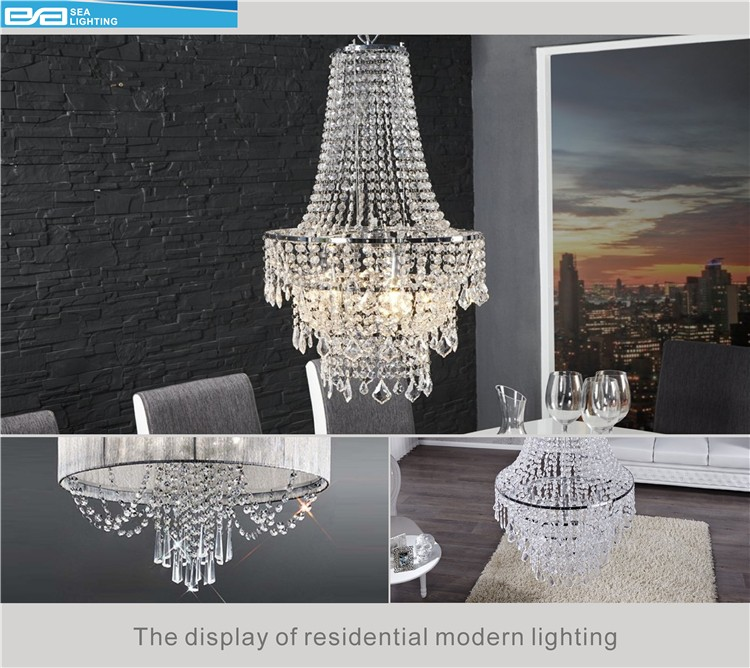 Fancy chandeliers,big pendant lamps square crystal hanging light 2164304