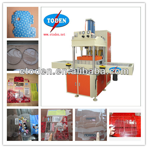creasing plastic box machine