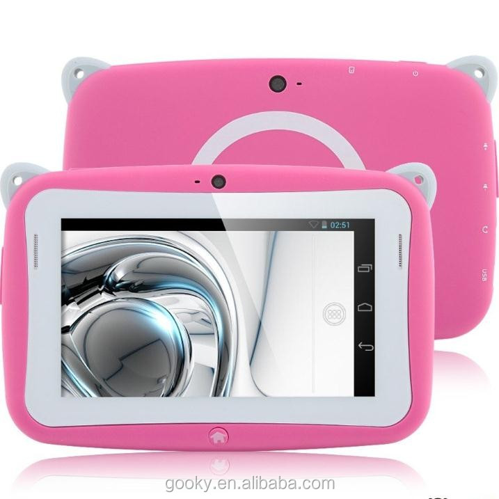 2016 Shenzhen android kids tablet pc 4.3inch Android 4.4 RAM 512MB 4GB tablet