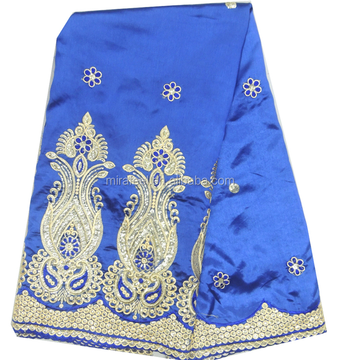 african lace george GE6495 royal blue gold