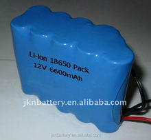 12V 40Ah energy storage lithium rechargeable battery pack