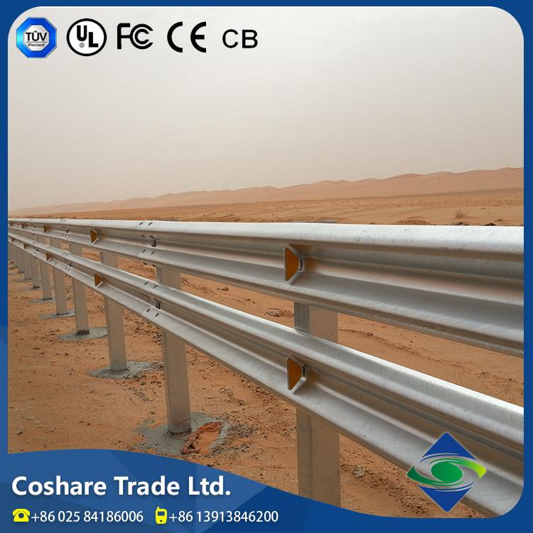 Coshare America Machine Produced Quiet Durable highway guardrail dimentions
