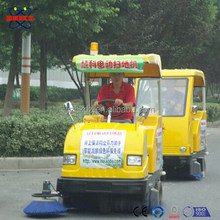 HK-1550B china electric mini vechicle garbage truck road sweeper