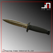 Stainless Steel Blade Rubber Handle Dive Knife