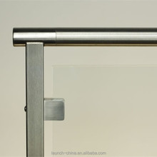 Stainless steel terrace design balustrade handrail posts