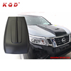 ABS plastic accessories 4x4 engine hood cover hood bonnet scoop for np300 navara