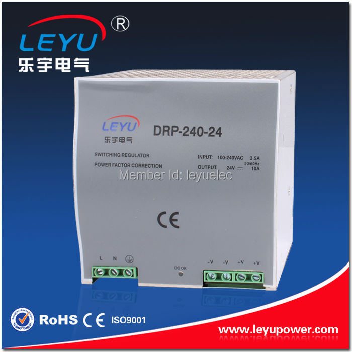 480w 110v to 48vdc full range timer 85-264vac din rail power adapter supply switch with camera DRP-480-24 20A constant voltage