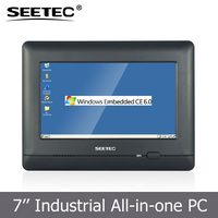 All in one tablet 7 inch touch panel RS232 port industrial application high resolution oem mini pc