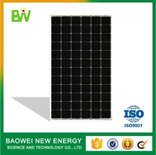 High strength solar module mono 24v 200w pv panel