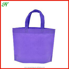 Wholesale Recycle Promotional PP laminated Non Woven Tote Bag/ Custom Foldable Non Woven Shopping Bag/ Non Woven Laminted Bag
