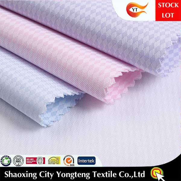 2015 HOT cotton poly fabric for office shirt