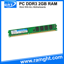 Bulk packing GHT/OEM memoria ram 2gb ddr3