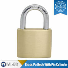 MOK lock Z40 50mm anti cut short|long shackle brass key lock sets
