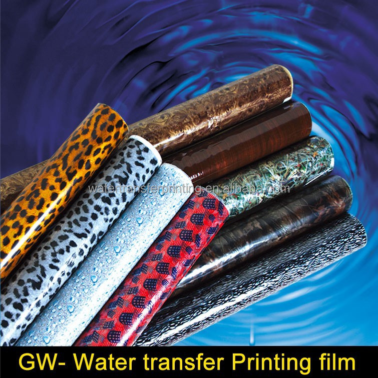 WHOLESALE Clear/Silver CARBON FIBER Water Transfer Printing film Transparent Film With different basecoat WIDTH100CMGWA187-1