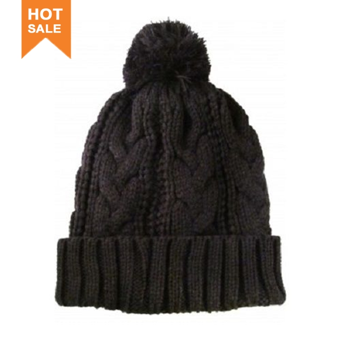 OEM and ODM embroidered knitted beanie hat bonnet