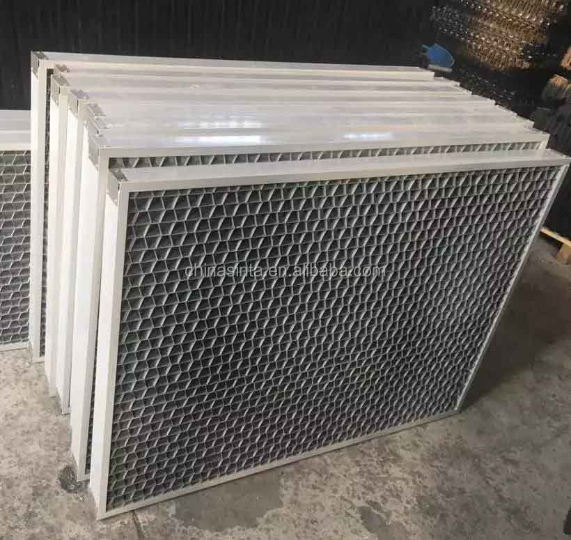 PVC Honeycomb Air vent louver cooling tower Air-inlet grille