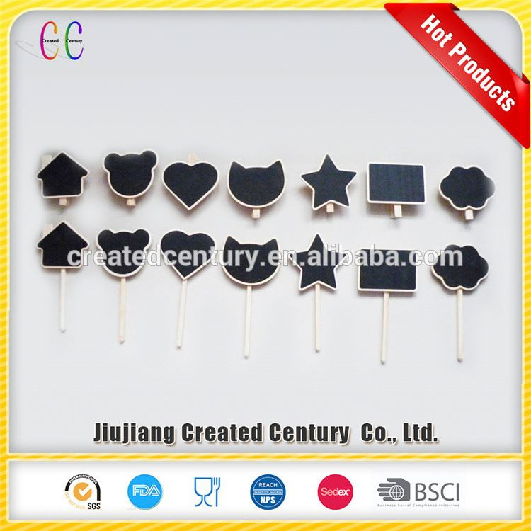 2017 new arrival tags and labels mini stone name board