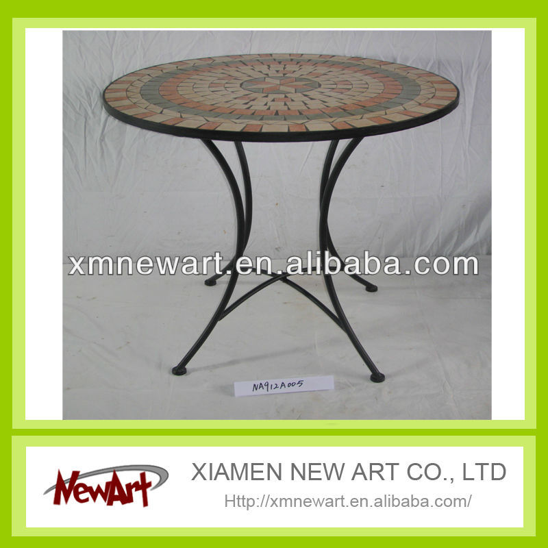 patio furniture tile top table
