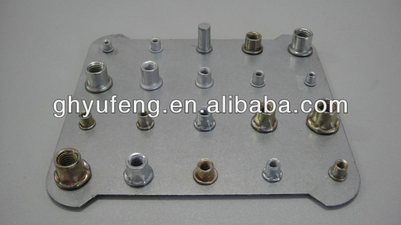 changde yufeng fasteners permanent fasteners rivet nut insert nut