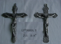 Wholesale new arrival religious crafts pewter catholic crucifix