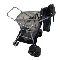 Outdoor Portable Folding Trolley Wheels Beach Cart