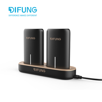 ODM OEM power bank docking station with double power bank