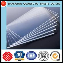 10-year warranty type of polycarbonate sheet solid plastic sheet for roofing sheets
