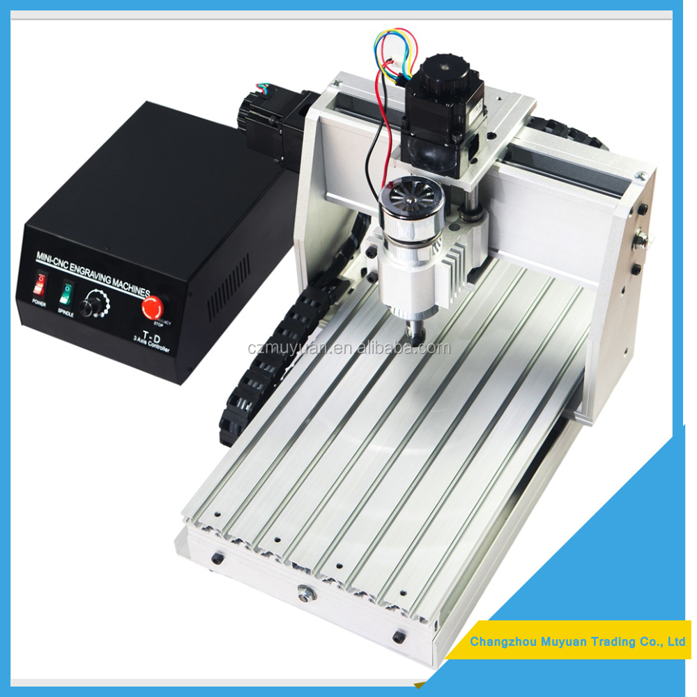 hot sale USB cnc router 3 / 4 axis 800W for wood carving 3040 with good quality