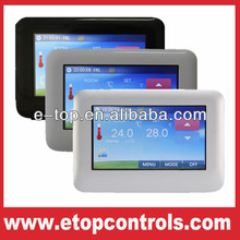 HT-CS01 Touch Screen Thermostat with Black,Silver, White Three Color