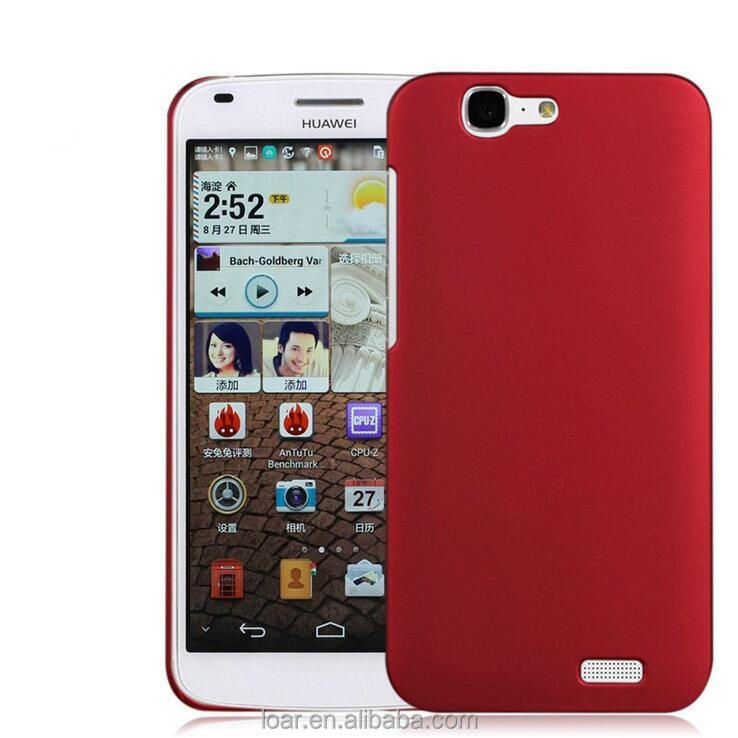 2015 gel New Ultra-thin Candy colorful hard PC Cover back Case huawei Ascend G7