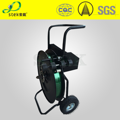 steel strap Dispenser, cheap, good quality, PET PP strap Trolley,