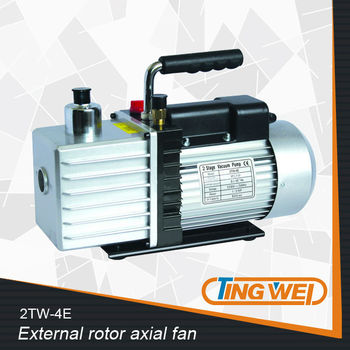 UL CE 3C ROSH INMETRO Taizhou TingWei 100% Copper wire wholesale Double Stage Rotary Vane Vacuum Pump Air pump 2TW-4E