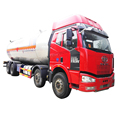 lpg tank supplier Faw 8x4 34.5m3  lpg delivery truck price