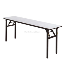 Used Plywood Banquet Rectangle 8ft Folding Tables For Sale