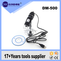 Hdmi microscope camera 500X magnifying glass imported USB Endoscope Camera with stand