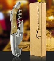 Promotional gifts wine accessories metal waiter corkscrew