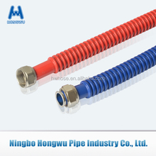 304 316L Stainless steel flexible metal hose with epoxy