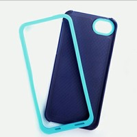 Glossy case cover for iphone 5 colorful case cover mobile phone case new product for 2013