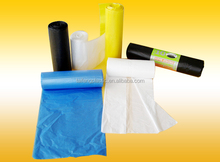 china original hdpe clear and coloured plastic bio-degradable bags