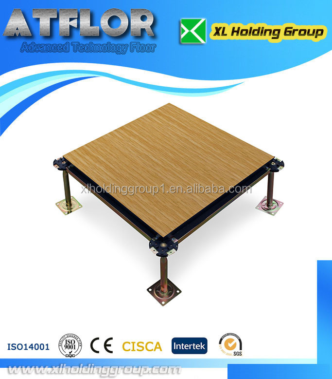 data center HPL access floor in china wood core raised floor computer floor antistatic 1.2mm