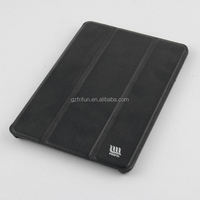 Grave black hot pu leather cover for ipad mini 4