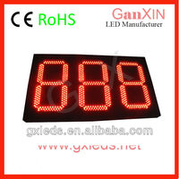 12inch large size queue managment system led display