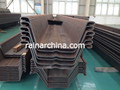 q235/q345/st37/st52 USD430 PER TON hot rolled /cold rolled U type steel larsen sheet pile