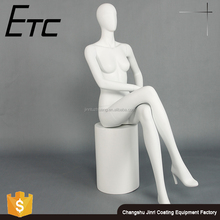 YTMTA-4 Customized sexy lifelike good quality sitting female mannequin