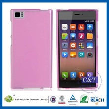 C&T Stylish Mobile Phone cover TPU case for xiaomi mi3